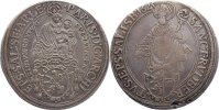 Taler 1623 Salzburg, Erzbistum Paris von Lodron 1619-1653. Revers kl. E... 160,00 EUR  zzgl. 3,50 EUR Versand