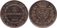 Cu 3 Centesimi 1826  L Italien-Sardinien Carlo Felice 1821-1831. kl. Ra... 15,00 EUR  zzgl. 1,00 EUR Versand