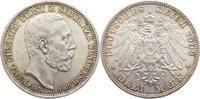 3 Mark 1909  A Schwarzburg-Sondershausen Karl Günther 1880-1909. kl. pr... 170,00 EUR  +  4,50 EUR shipping