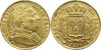20 Francs 1814  A Frankreich Ludwig XVIII. 1814, 1815-1824. Gold, kl. p... 545,00 EUR free shipping