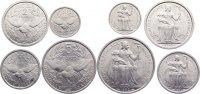 Lot von vier Münzen zu 50 Cent., 1, 2 und 5 Francs 1949 Neu Kaledonien ... 15,00 EUR  zzgl. 1,00 EUR Versand