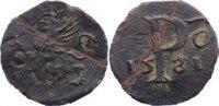 Cu Scherf 1581 Pommern-Stettin Johann Friedrich 1569-1600. Knickspur, s... 95,00 EUR  zzgl. 3,50 EUR Versand