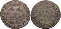 1/18 Taler 1694 Sachsen-Meiningen Bernhard 1680-1706. sehr schön  175,00 EUR  zzgl. 3,50 EUR Versand