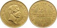 2 1/2 Taler 1851  B Braunschweig-Wolfenbüttel Wilhelm 1831-1884. Gold, ... 895,00 EUR free shipping