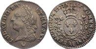 1/10 Écu à la vieille tête 177 1773  AA Frankreich Ludwig XV. 1715-1774... 275,00 EUR  +  4,50 EUR shipping
