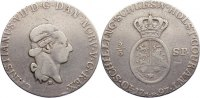 2/3 Speciestaler 1797  B Schleswig-Holstein, Königliche Linie Christian... 130,00 EUR  zzgl. 3,50 EUR Versand
