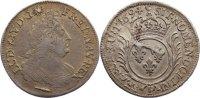 1/2 Écu aux palmes 1 1694  P Frankreich Ludwig XIV. 1643-1715. Stempelf... 170,00 EUR  +  4,50 EUR shipping