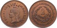 2 Centavos 1889 Zentralamerikanische Republik Republik seit 1823. selte... 185,00 EUR  zzgl. 3,50 EUR Versand