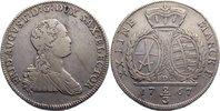 2/3 Taler 1767 Sachsen-Albertinische Linie Friedrich August III. 1763-1... 60,00 EUR  zzgl. 3,50 EUR Versand