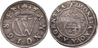 1/24 Taler 1684  IT Schwarzburg-Sondershausen Christian Wilhelm I. 1666... 190,00 EUR  +  4,50 EUR shipping
