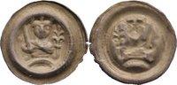Brakteat  1203-1225 Lübeck, dänische Münzstätte Albrecht von Orlamünde ... 745,00 EUR