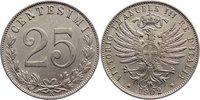25 Centesimi 1902  R Italien-Königreich Vittorio Emanuele III. 1900-194... 90,00 EUR  zzgl. 3,50 EUR Versand