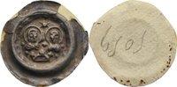 Brakteat  Goslar, königliche Münzstätte Anonym, erste Hälfte 13. Jahrhu... 525,00 EUR free shipping