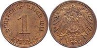1 Pfennig 1911  G Kleinmünzen  vorzüglich - Stempelglanz  13,00 EUR  zzgl. 1,00 EUR Versand