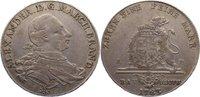 Taler 1783  EP Brandenburg-Ansbach Christian Friedrich Karl Alexander 1... 275,00 EUR