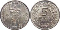 5 Reichsmark 1925  F Weimarer Republik Gedenkmünzen 1918-1933. kl. Krat... 125,00 EUR  +  4,50 EUR shipping