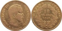 10 Francs 1859  BB Frankreich Napoleon III. 1852-1870. GOLD, fast sehr ... 130,00 EUR  +  4,50 EUR shipping
