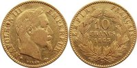 10 Francs 1863  BB Frankreich Napoleon III. 1852-1870. GOLD, fast sehr ... 225,00 EUR  +  4,50 EUR shipping