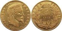 5 Francs 1868  BB Frankreich Napoleon III. 1852-1870. GOLD, sehr schön  145,00 EUR  +  4,50 EUR shipping