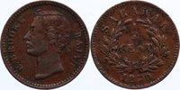 Cu 1/4 Cent 1870 Sarawak Charles J. Brooke, Rajah 1868-1917. leicht kor... 75,00 EUR  +  4,50 EUR shipping