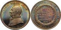 Silbermedaille 1860 Frankfurt, Stadt  feine Patina, fast Stempelglanz  375,00 EUR free shipping