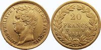 20 Francs 1831  W Frankreich Louis Philippe I. 1830-1848. Gold, kl. Ran... 325,00 EUR  +  4,50 EUR shipping