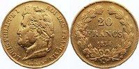 20 Francs 1834  W Frankreich Louis Philippe I. 1830-1848. Gold, kl. Sch... 275,00 EUR  +  4,50 EUR shipping