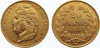 20 Francs 1844  W Frankreich Louis Philippe I. 1830-1848. Gold, kl. Kra... 325,00 EUR  +  4,50 EUR shipping