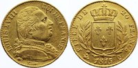 20 Francs 1815 Frankreich Ludwig XVIII. 1814, 1815-1824. Gold, selten, ... 425,00 EUR free shipping
