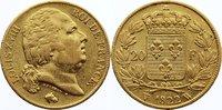 20 Francs 1822  W Frankreich Ludwig XVIII. 1814, 1815-1824. Gold, kl. K... 445,00 EUR free shipping