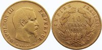 10 Francs 1860  A Frankreich Napoleon III. 1852-1870. GOLD, sehr schön  180,00 EUR  +  4,50 EUR shipping