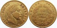 10 Francs 1862  BB Frankreich Napoleon III. 1852-1870. GOLD, kl. Randfe... 185,00 EUR  +  4,50 EUR shipping
