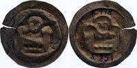 Brakteat  1156-1190 Sachsen-Meißen, markgräflich wettinische Mzst. Otto... 210,00 EUR  +  4,50 EUR shipping