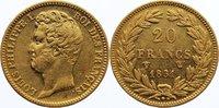 20 Francs 1831  W Frankreich Louis Philippe I. 1830-1848. Gold, sehr sc... 385,00 EUR kostenloser Versand