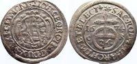 1/24 Taler 1674  CR Sachsen-Albertinische Linie Johann Georg II. 1656-1... 115,00 EUR  +  4,50 EUR shipping