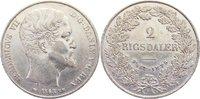 2 Rigsdaler 1863  RH Dänemark Frederik VII. 1848-1863. sehr schön - vor... 445,00 EUR kostenloser Versand