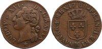 Cu 1/2 Sol 1788  MA Frankreich Ludwig XVI. 1774-1793. min. Schrötlingsf... 95,00 EUR  +  4,50 EUR shipping