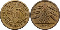 50 Rentenpfennig 1923  A Weimarer Republik...