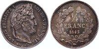 1/4 Franc 1843  W Frankreich Louis Philippe I. 1830-1848. winz. Kratzer... 145,00 EUR  +  4,50 EUR shipping