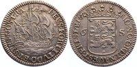 6 Stuiver 1678 Niederlande-Westfriesland, Provinz  fast vorzüglich  175,00 EUR  zzgl. 3,50 EUR Versand