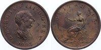 Cu Halfpenny 1806 Großbritannien George III. 1760-1820. min. Kratzer, v... 80,00 EUR  zzgl. 3,50 EUR Versand