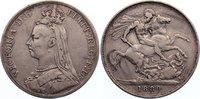 Crown 1889 Großbritannien Victoria 1837-1901. fast sehr schön / sehr sc... 45,00 EUR  zzgl. 3,50 EUR Versand