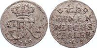 1/48 Taler 1749 Brandenburg-Preußen Friedrich II. 1740-1786. selten, Sc... 125,00 EUR  +  4,50 EUR shipping