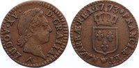 1/2 Sol 1773  W Frankreich Ludwig XV. 1715-1774. sehr schön  85,00 EUR  +  4,50 EUR shipping