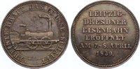 Kleine Silbermedaille 1839 Sachsen-Albertinische Linie Friedrich August... 325,00 EUR  +  4,50 EUR shipping