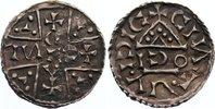 Pfennig  1018-1026 Regensburg, herzogliche Münzstätte Heinrich V., der ... 475,00 EUR kostenloser Versand