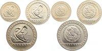 Drei Münzen zu 25, 50 und 100 Pesos 1 1992 Mexiko Zweite Republik seit ... 70,00 EUR