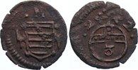 Kipper Cu 3 Pfennig 1622 Sachsen-Altenburg Johann Philipp und seine dre... 90,00 EUR