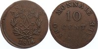 Cu 10 Centimes 1814  R Frankreich Ludwig XVIII. 1814, 1815-1824. Präges... 50,00 EUR