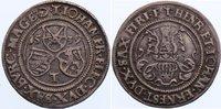 1/4 Taler 1539  T Sachsen-Kurfürstentum Johann Friedrich, Heinrich und ... 975,00 EUR